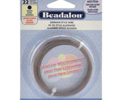22 gauge beading wire German Style Wire, Round, Antique Brass Color, 22 Gauge (.025, .64, Halcraft Collection, Owners & Creators of Bead Gallery! 22 Gauge Beading Wire Nice German Style Wire, Round, Antique Brass Color, 22 Gauge (.025, .64, Halcraft Collection, Owners & Creators Of Bead Gallery! Images