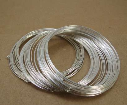 22 gauge beading wire Memory Wire, Silver-Plated Carbon Steel Wire, 22 Gauge Bracelet Memory Wire, Jewelry Supplies, Beading Supplies, Item 579wr 22 Gauge Beading Wire Top Memory Wire, Silver-Plated Carbon Steel Wire, 22 Gauge Bracelet Memory Wire, Jewelry Supplies, Beading Supplies, Item 579Wr Photos