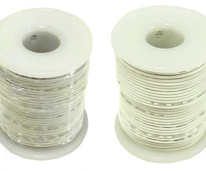 22 gauge hookup wire Hookup Wire 22 Gauge Stranded Color White Length, feet, RSR 22 Gauge Hookup Wire Brilliant Hookup Wire 22 Gauge Stranded Color White Length, Feet, RSR Collections