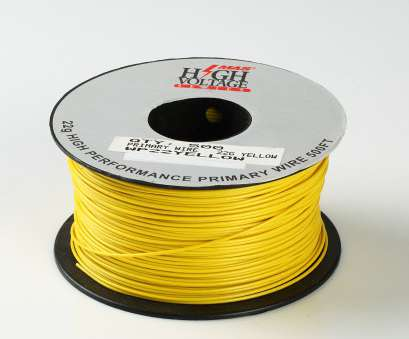 22 Gauge Primary Wire Most Details About 500Ft Yellow 22, Gauge Stranded Hook Up Primary Wire Material Copper PVC Collections