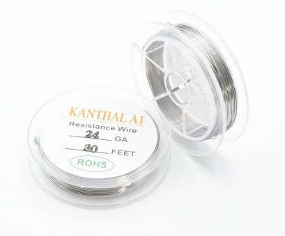 22 vs 24 gauge wire Original 10m/roll Kanthal A1 Wire Resistance Wire 20/22/24/26/28, Gauge Heating Wires, RTA, Mechanical Atomizer Tank-in Electronic Cigarette 22 Vs 24 Gauge Wire Practical Original 10M/Roll Kanthal A1 Wire Resistance Wire 20/22/24/26/28, Gauge Heating Wires, RTA, Mechanical Atomizer Tank-In Electronic Cigarette Galleries