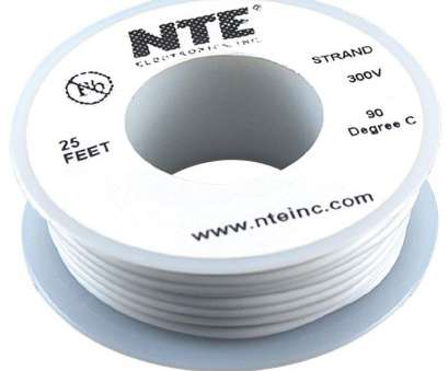 24 gauge hookup wire NTE Electronics WH24-09-25 Hook Up Wire, Stranded, Type 24 Gauge,, Length, White: Amazon.com: Industrial & Scientific 15 New 24 Gauge Hookup Wire Pictures