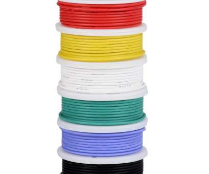 24 gauge silicone wire 24 Gauge Wire, Electrical Wire, 24, Flexible Silicone Wire/(6 Different Colored 30 24 Gauge Silicone Wire Creative 24 Gauge Wire, Electrical Wire, 24, Flexible Silicone Wire/(6 Different Colored 30 Collections