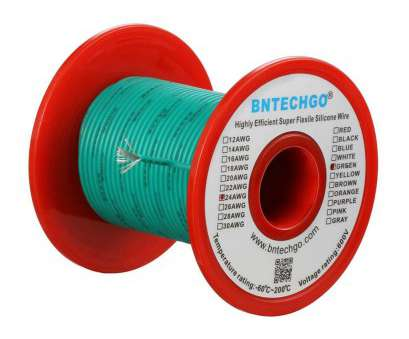 24 gauge silicone wire BNTECHGO 24 Gauge Silicone Wire Green 50 feet Spool Wire 600V High Temperature Resistant /[ 24 Gauge Silicone Wire Popular BNTECHGO 24 Gauge Silicone Wire Green 50 Feet Spool Wire 600V High Temperature Resistant /[ Galleries