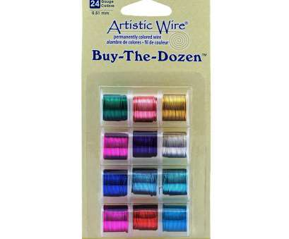 24 gauge silver plated wire Artistic Wire 24-Gauge Silver Plated Buy-The-Dozen Wire 24 Gauge Silver Plated Wire New Artistic Wire 24-Gauge Silver Plated Buy-The-Dozen Wire Pictures