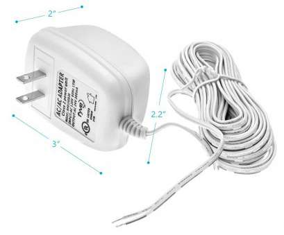 24 vac wire gauge Amazon.com: 24 Volt C-Wire Power Adapter/Transformer, Ecobee Nest Honeywell Emerson Smart WiFi Thermostat by Fyve Global, 25 ft Cable: Home Audio & 24, Wire Gauge Perfect Amazon.Com: 24 Volt C-Wire Power Adapter/Transformer, Ecobee Nest Honeywell Emerson Smart WiFi Thermostat By Fyve Global, 25 Ft Cable: Home Audio & Pictures