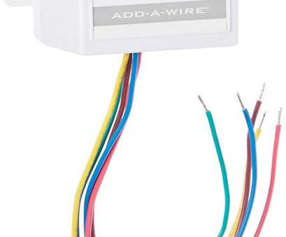 24 vac wire gauge Venstar ACC0410 Add-A-Wire Accessory, All 24, Thermostats (4 to 5 Wires), White: Amazon.com: Industrial & Scientific 24, Wire Gauge Top Venstar ACC0410 Add-A-Wire Accessory, All 24, Thermostats (4 To 5 Wires), White: Amazon.Com: Industrial & Scientific Images