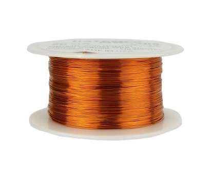 26 Gauge Wire Ebay New Details About TEMCo Magnet Wire 26, Gauge Enameled Copper 200C, 629Ft Coil Winding Solutions