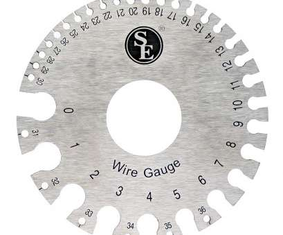 28 wire gauge diameter Amazon.com: SE JT47WG-C Dual-Sided Non-Ferrous Wire Gauge, 0-36 American Standard (AWG), SAE: Home Improvement 28 Wire Gauge Diameter Perfect Amazon.Com: SE JT47WG-C Dual-Sided Non-Ferrous Wire Gauge, 0-36 American Standard (AWG), SAE: Home Improvement Pictures
