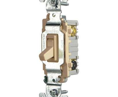 3, Switch Wiring Commercial Professional Eaton Commercial Grade 15, 3-Way Toggle Switch With Back, Side Wiring, Ivory Images