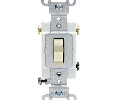 3, Switch Wiring Commercial Nice Leviton 20, 3-Way Preferred Toggle Switch, Ivory Images