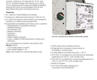 3, Switch Wiring Commercial Professional Lutron 3, Switch Wiring Diagram, Maestro Dimmer With Collections