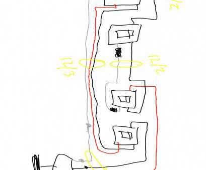 3, Switch Wiring Help Professional Electrical What Wire Is Needed, A Double 3, Switch On, 13 Images