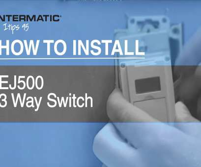 3 way switch wiring with timer How to Install, EJ500 Three-Way Timer Switch 3, Switch Wiring With Timer Creative How To Install, EJ500 Three-Way Timer Switch Solutions