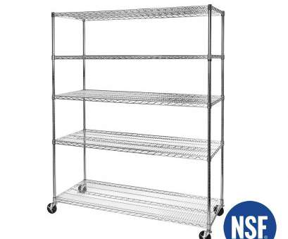 5-tier ultrazinctm nsf steel wire shelving with wheels Amazon.com: Seville Classics 5-Tier, Steel Wire Shelving with Wheels,, D x, W x, H, Ultrazinc: Home & Kitchen 5-Tier Ultrazinctm, Steel Wire Shelving With Wheels Cleaver Amazon.Com: Seville Classics 5-Tier, Steel Wire Shelving With Wheels,, D X, W X, H, Ultrazinc: Home & Kitchen Images