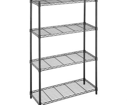 5 tier wire shelving rack Whitmor Deluxe Rack Collection 36, x 54, Supreme 4-Tier Wire Shelving in Black 5 Tier Wire Shelving Rack Cleaver Whitmor Deluxe Rack Collection 36, X 54, Supreme 4-Tier Wire Shelving In Black Images