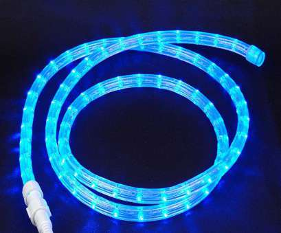 5 Wire, Rope Light Professional Custom, Blue, Voltage, LED Rope Light, 1/2