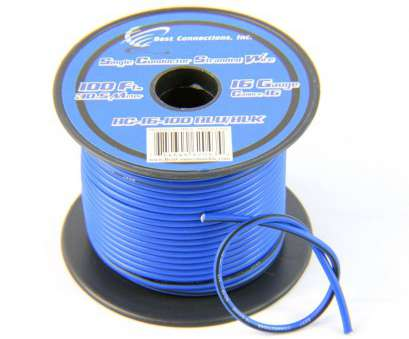 6 conductor 16 gauge wire Details about 16 Gauge 100' ft Stripe Tracer Cable Single Conductor Remote Wire (2 Rolls) 6 Conductor 16 Gauge Wire Perfect Details About 16 Gauge 100' Ft Stripe Tracer Cable Single Conductor Remote Wire (2 Rolls) Images