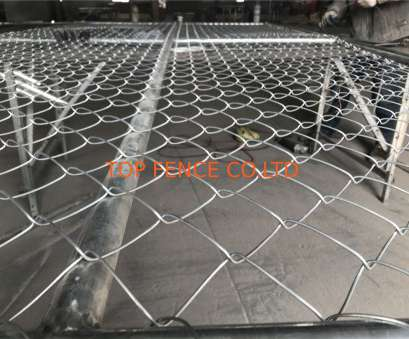 6 Gage Wire Mesh Creative 6'X12' Temporary Construction Fence Panels 1⅗