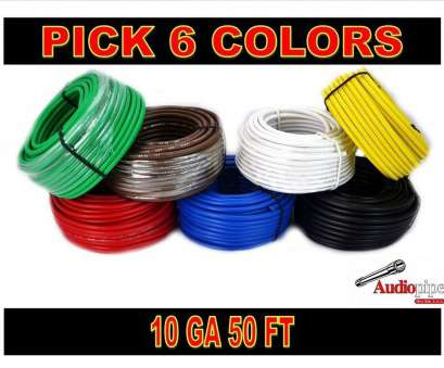 6 gauge 2 wire cable 10 GA GAUGE 50 FT ROLLS PRIMARY AUTO REMOTE POWER GROUND WIRE CABLE (6 COLORS) 6 Gauge 2 Wire Cable Popular 10 GA GAUGE 50 FT ROLLS PRIMARY AUTO REMOTE POWER GROUND WIRE CABLE (6 COLORS) Galleries