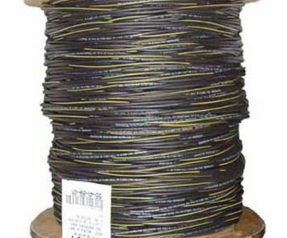 6 gauge 2 wire cable 1,000, 6/3 Black Stranded AL Erskine, Cable 11 Fantastic 6 Gauge 2 Wire Cable Ideas