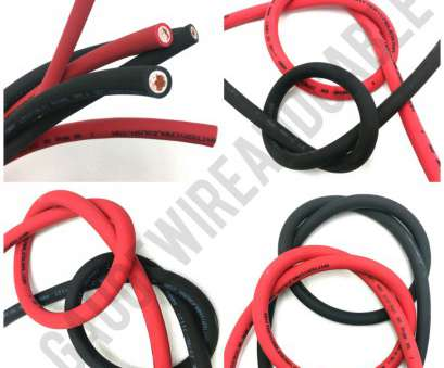 6 gauge wire vs 2 gauge Details about Extreme Battery Cable Flexible Pure Copper 6, 4, 2 Gauge, Size By, Foot 6 Gauge Wire Vs 2 Gauge Creative Details About Extreme Battery Cable Flexible Pure Copper 6, 4, 2 Gauge, Size By, Foot Solutions