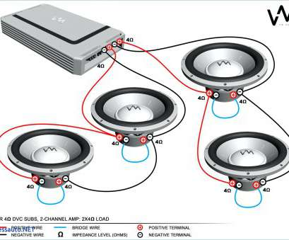 8 ohm speaker wire gauge How To Wire, Speakers, Diagram 4 Channel Wiring 8, In And 13 Practical 8, Speaker Wire Gauge Photos