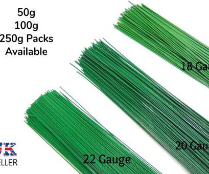 a 22-gauge wire will have a diameter in mils of 50G 100G & 250g Green Florist Stub Wire Large Choice of Gauge 19 Brilliant A 22-Gauge Wire Will Have A Diameter In Mils Of Galleries