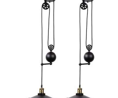 aluminium wire pendant light Fuloon Edison Vintage Loft Industrial Pulley Pendant Lights Adjustable Wire Lamps Retractable Lighting (Black) (Black-2), Amazon.com Aluminium Wire Pendant Light Nice Fuloon Edison Vintage Loft Industrial Pulley Pendant Lights Adjustable Wire Lamps Retractable Lighting (Black) (Black-2), Amazon.Com Photos