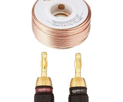 amazonbasics 16-gauge speaker wire - 50 feet Amazon.com: AmazonBasics 16-Gauge Speaker Wire -, Feet: Home Audio & Theater Amazonbasics 16-Gauge Speaker Wire, 50 Feet Practical Amazon.Com: AmazonBasics 16-Gauge Speaker Wire -, Feet: Home Audio & Theater Solutions