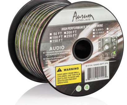 amazonbasics 16-gauge speaker wire - 50 feet Amazon.com: Aurum Cables 16 Gauge Transparent, Speaker Wire w/ ft markings every 5 ft -, feet: Electronics Amazonbasics 16-Gauge Speaker Wire, 50 Feet Creative Amazon.Com: Aurum Cables 16 Gauge Transparent, Speaker Wire W/ Ft Markings Every 5 Ft -, Feet: Electronics Solutions
