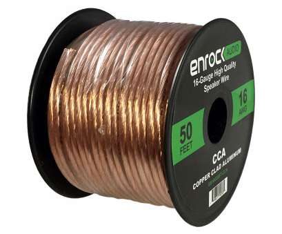 amazonbasics 16-gauge speaker wire - 50 feet Enrock, Audio Spool of 50 Foot 16-gauge Speaker Wire, Copper Clad Aluminum Amazonbasics 16-Gauge Speaker Wire, 50 Feet Cleaver Enrock, Audio Spool Of 50 Foot 16-Gauge Speaker Wire, Copper Clad Aluminum Photos