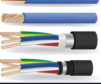 are all electrical wires copper Electric copper cables vector image on VectorStock Are, Electrical Wires Copper Nice Electric Copper Cables Vector Image On VectorStock Galleries