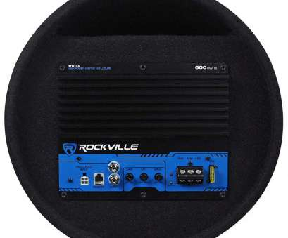 Auto Speaker Wire Gauge Guide Nice Amazon.Com: Rockville RTB12A, 600W Powered Subwoofer Bass Remote+Amp Kit:, Electronics Images