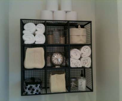 Bathroom Wire Wall Shelves Practical Bathroom: Wall Mount Wire Bathroom Towel Storage Shelving -, To Collections