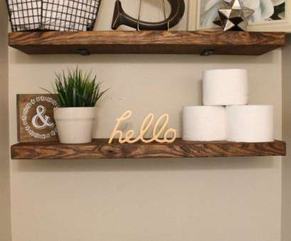 Bathroom Wire Wall Shelves Nice Beautiful, Faux Floating Shelves Of Beautiful, Faux Floating Shelves Solutions