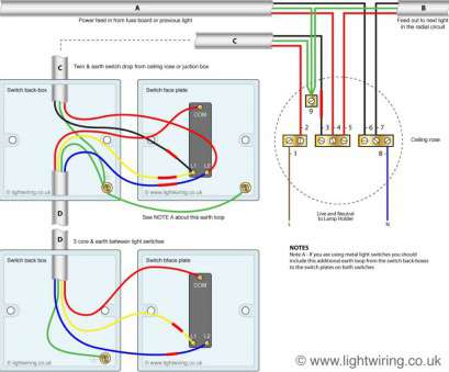 ceiling rose wiring 2 way switch 2, Switch Wiring Diagram Light, Two In, Way Switch Wiring Diagram 14 Fantastic Ceiling Rose Wiring 2, Switch Galleries