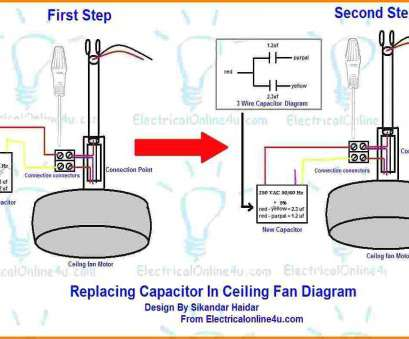 10 Creative Ceiling, Wiring Diagram, With Capacitor Connection Photos
