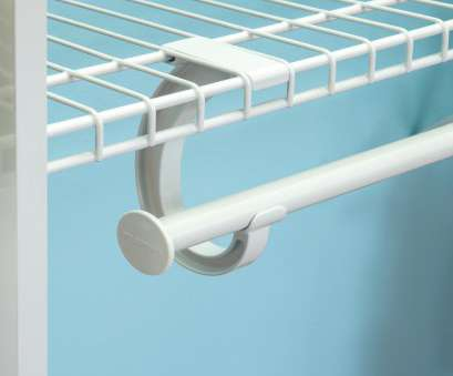 closet rod for wire shelving ClosetMaid® Introduces SuperSlide® Metal Closet, Support Closet, For Wire Shelving New ClosetMaid® Introduces SuperSlide® Metal Closet, Support Galleries