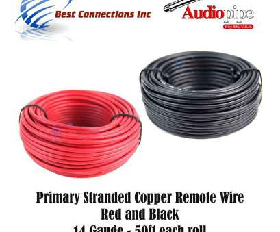 connecting red electrical wires 14 GAUGE WIRE, & BLACK POWER GROUND 50 FT EACH PRIMARY STRANDED COPPER CLAD, Amazon.com Connecting, Electrical Wires Practical 14 GAUGE WIRE, & BLACK POWER GROUND 50 FT EACH PRIMARY STRANDED COPPER CLAD, Amazon.Com Photos