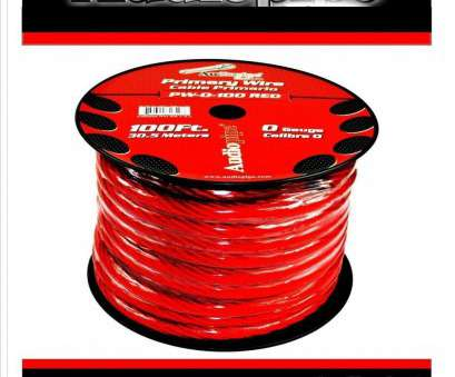 connecting red electrical wires 0 GA GAUGE PW-0, POWER GROUND WIRE CABLE AUDIOPIPE, AUDIO, 100FT SPOOL 17 Cleaver Connecting, Electrical Wires Ideas