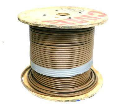 copper electrical wire manufacturers Details about (~600 ft.), Wire & Cable Brown 1AWG Electrical Copper Wire Nylon Insulated 16 Professional Copper Electrical Wire Manufacturers Collections