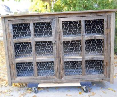 18 Practical Decorative Chicken Wire Mesh, Cabinets Images