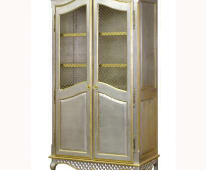 decorative wire mesh cabinet doors grand amoire, silver/gold gilding with brass wire mesh doors Decorative Wire Mesh Cabinet Doors Brilliant Grand Amoire, Silver/Gold Gilding With Brass Wire Mesh Doors Collections