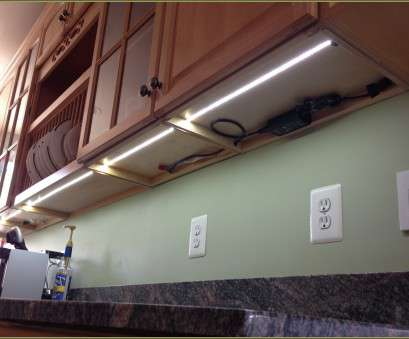 12 Professional Direct Wire, Tape Under Cabinet Lighting Photos