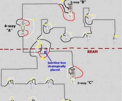 diy 3 way switch wiring diagram Unique Wiring Diagram, Switch At, Of, 4, With Multiple Lights Electrical Diy Diy 3, Switch Wiring Diagram Cleaver Unique Wiring Diagram, Switch At, Of, 4, With Multiple Lights Electrical Diy Photos