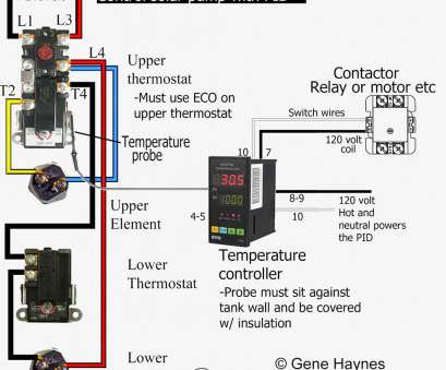 Electric Thermostat Wiring Diagram Brilliant Electric Water Heater Thermostat Wiring Diagram, To Wire At Inside Hot Collections