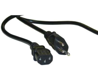 Electric Wire Colours Switzerland Practical Swiss 3 Prong Computer/Monitor Power Cord, Black, SE 1011 To C13 Images