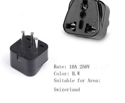 Electric Wire Colours Switzerland Simple Swiss World Travel Adapter Longrich Wholesale, Volt Converter Plug Collections