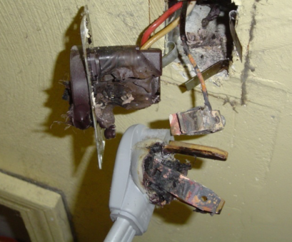 electrical outlet loose connection Birnie Home Safe determines that a loose electrical connection, the cause of this burnt plug, receptacle in, Morelli's home Electrical Outlet Loose Connection Cleaver Birnie Home Safe Determines That A Loose Electrical Connection, The Cause Of This Burnt Plug, Receptacle In, Morelli'S Home Ideas
